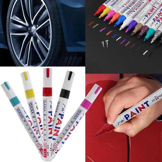 Waterproof Car Paint Pen Scratch Repair Pen Painting Paint Marker 4 Colors