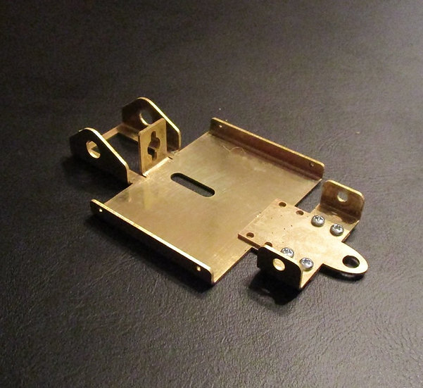 LVJ Brass Charger Chassis