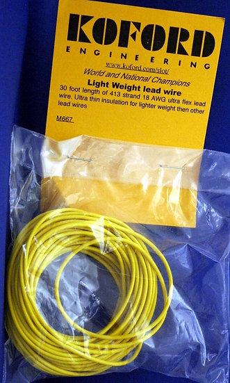 18 gauge Lead Wire