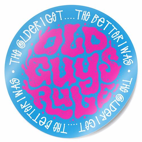 Sticker, Trip Type, Blue