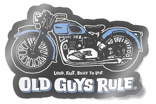 Sticker, Triumph Motorcycle