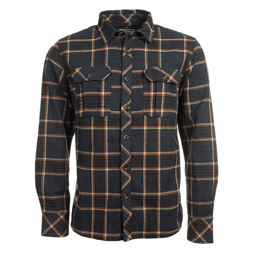 Stacked OGR Logo Overshirt Navy Check