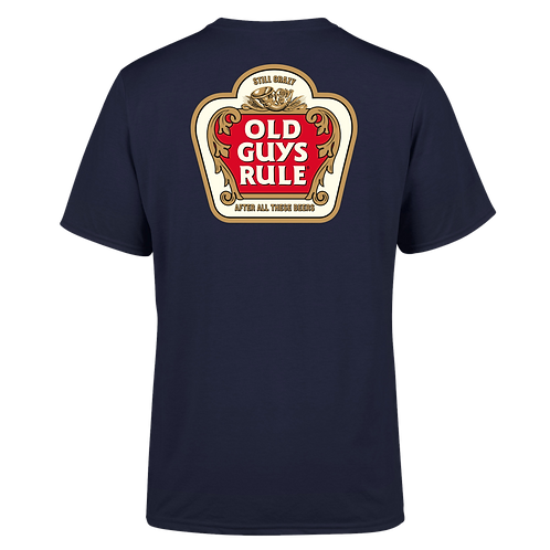 Old Guys Rule Tee  Stella Crazy