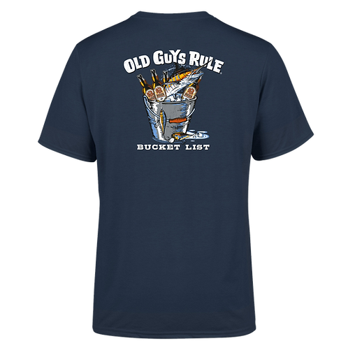 Old Guys Rule Tee,  Bucket List