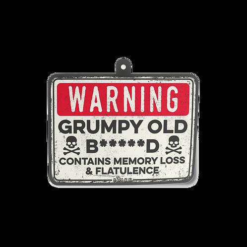 Oldies Club Air Freshener Grumpy Old B*****D