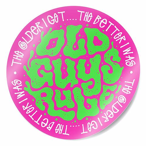 Sticker, Trip Type, Pink