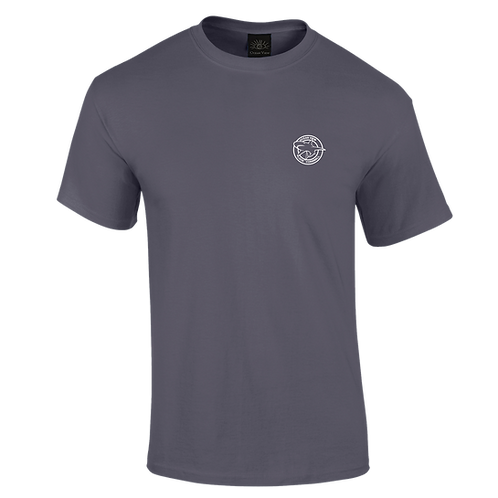 Ocean View Looe Cornwall Shark Tee Shirt Front Print