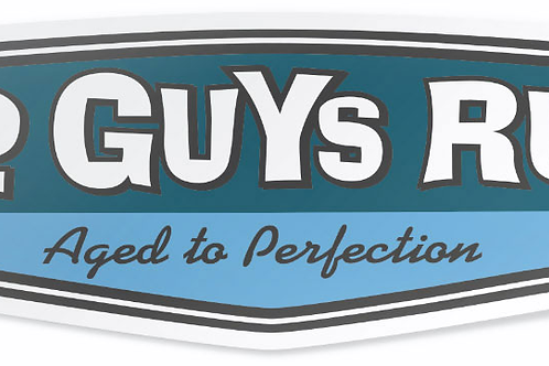 Old Guys Rule Sticker,  Aged To Perfection