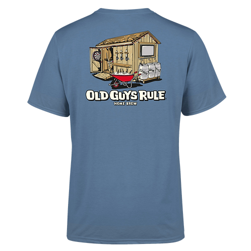 "Old Guys Rule Tee,  ""Home Brew"
