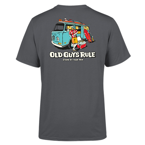 "Old Guys Rule Tee, ""Stand By Your Van"""