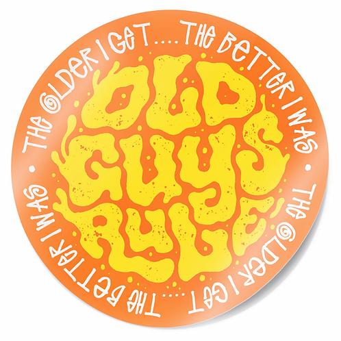 Sticker, Trip Type, Orange