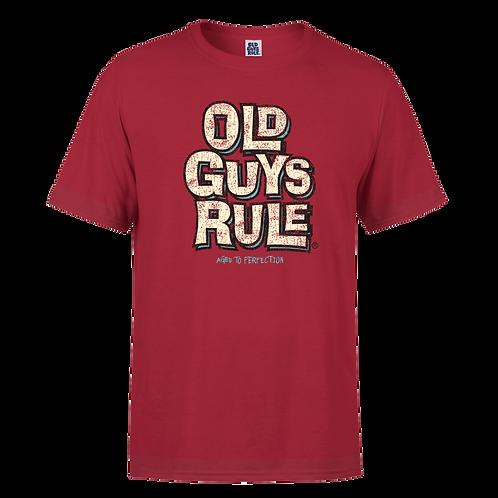 Old Guys Rule Tee, Stacked OGR Logo