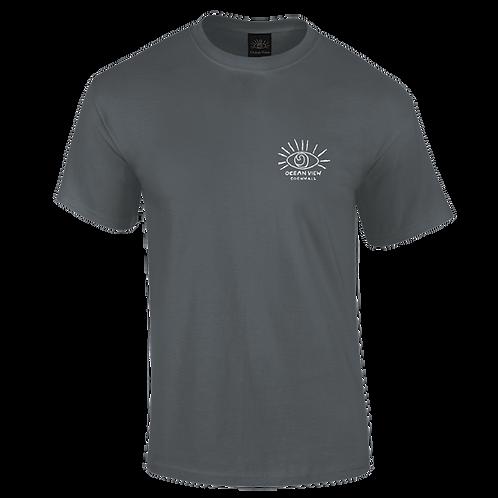 Ocean View Cornwall Tee Shirt Eye Front Print
