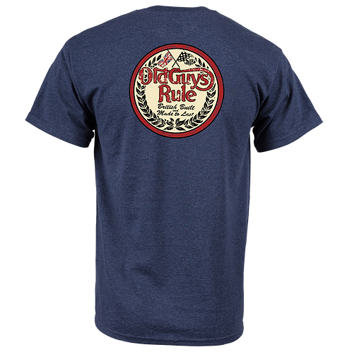 Old Guys Rule Tee, British Built, Made To Last
