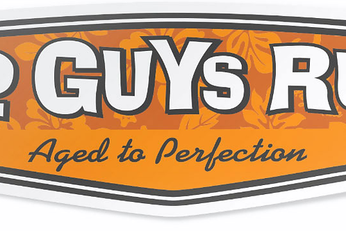 Old Guys Rule Sticker Aged To Perfection, Hibiscus