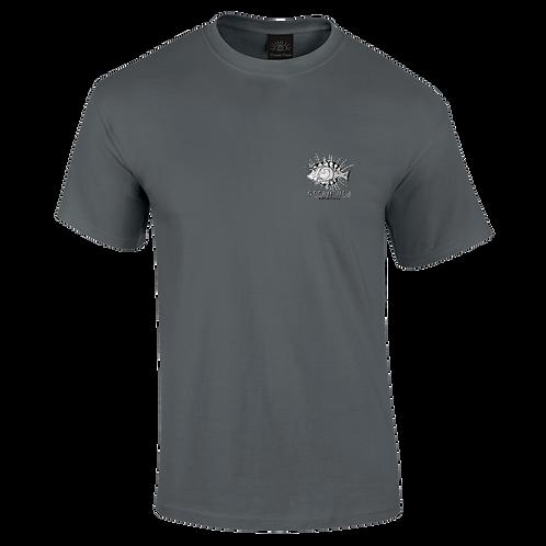 Ocean View Cornwall Tee Shirt  Fish Front Print