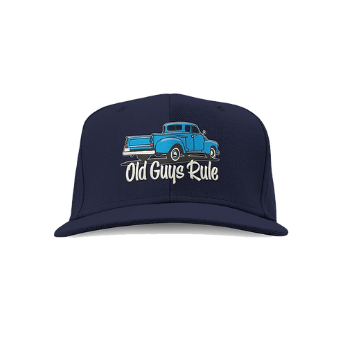Old Guys Rule Cap, It Took Decades. Pickup Truck