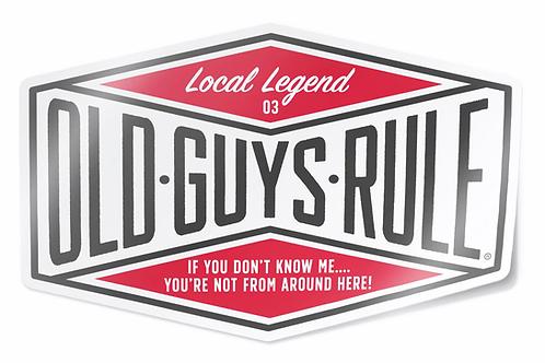 Sticker, Local Legend