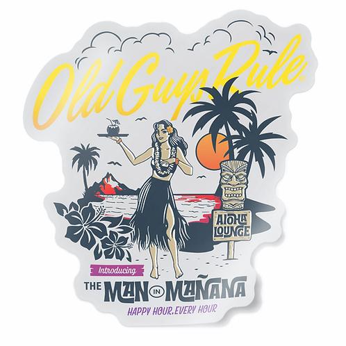 Sticker Aloha Lounge