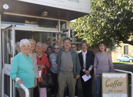 Volunteer group Mercer House open the doors