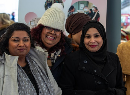 Supporting Shama Women's Centre in Leicester