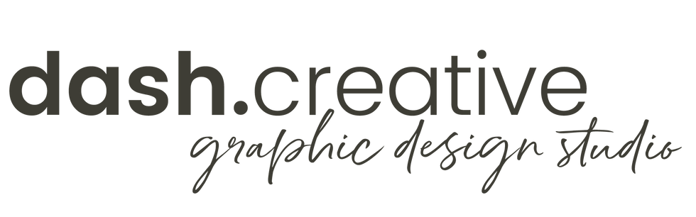 Dash Creative Design Studio Logo -Vernon BC