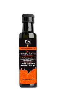 Organic Pumpkin Seed Oil-Cold Pressed