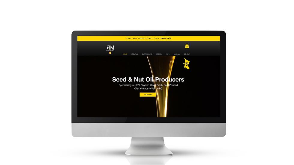 Rm-Essentials-Website Design