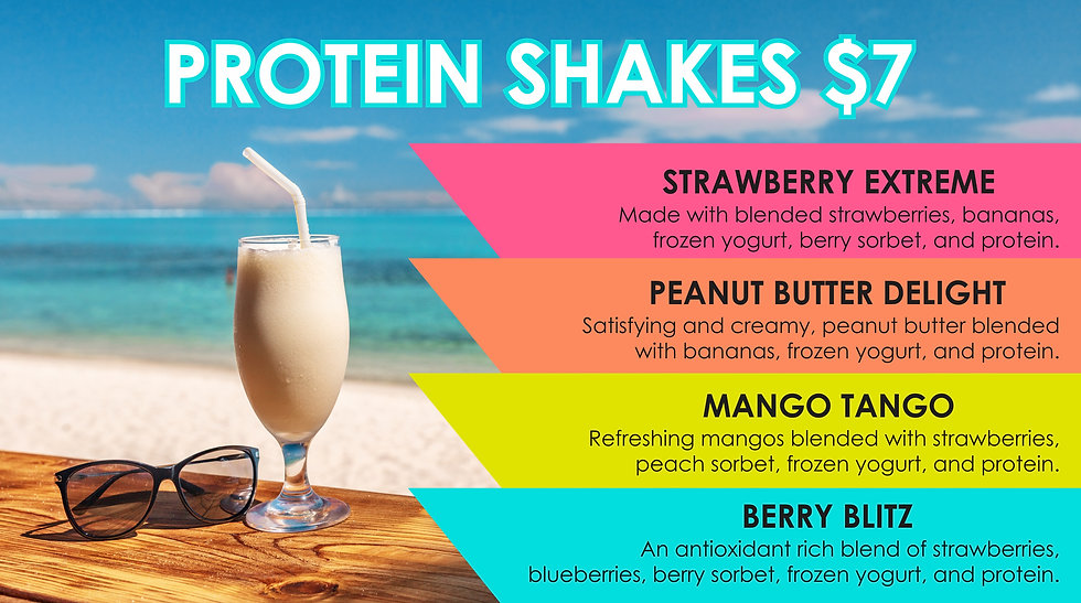 Protien Shake for pre workout at Fitness wesdt Gym, Vernon BC