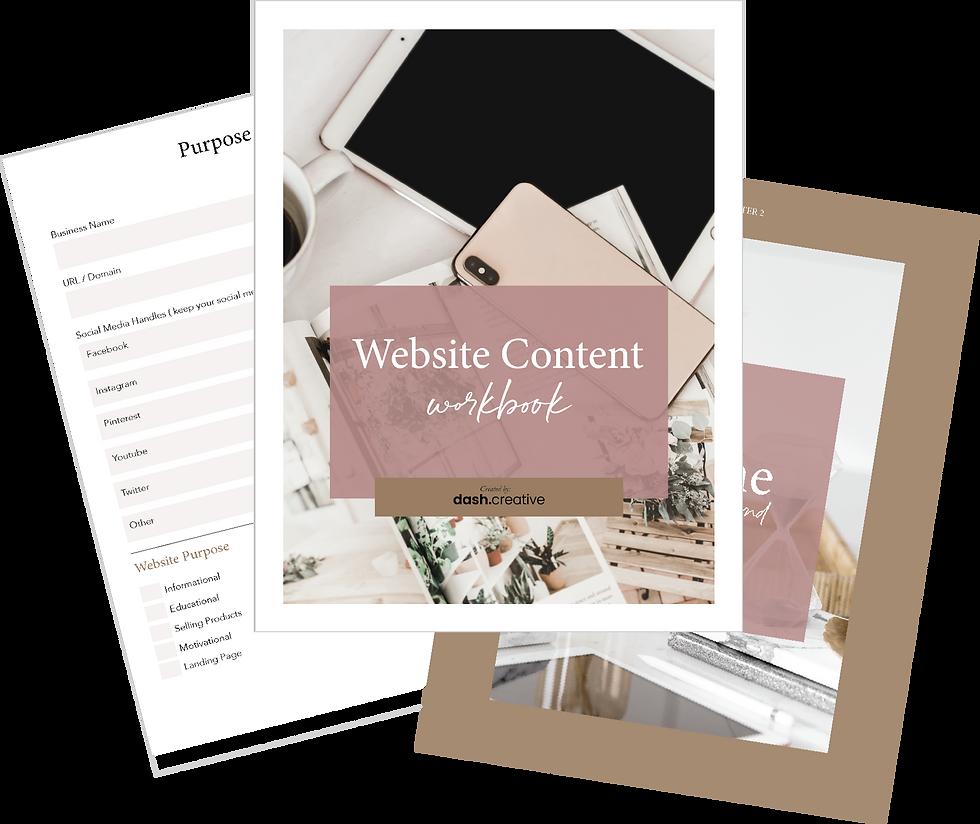 Website Content Workbook