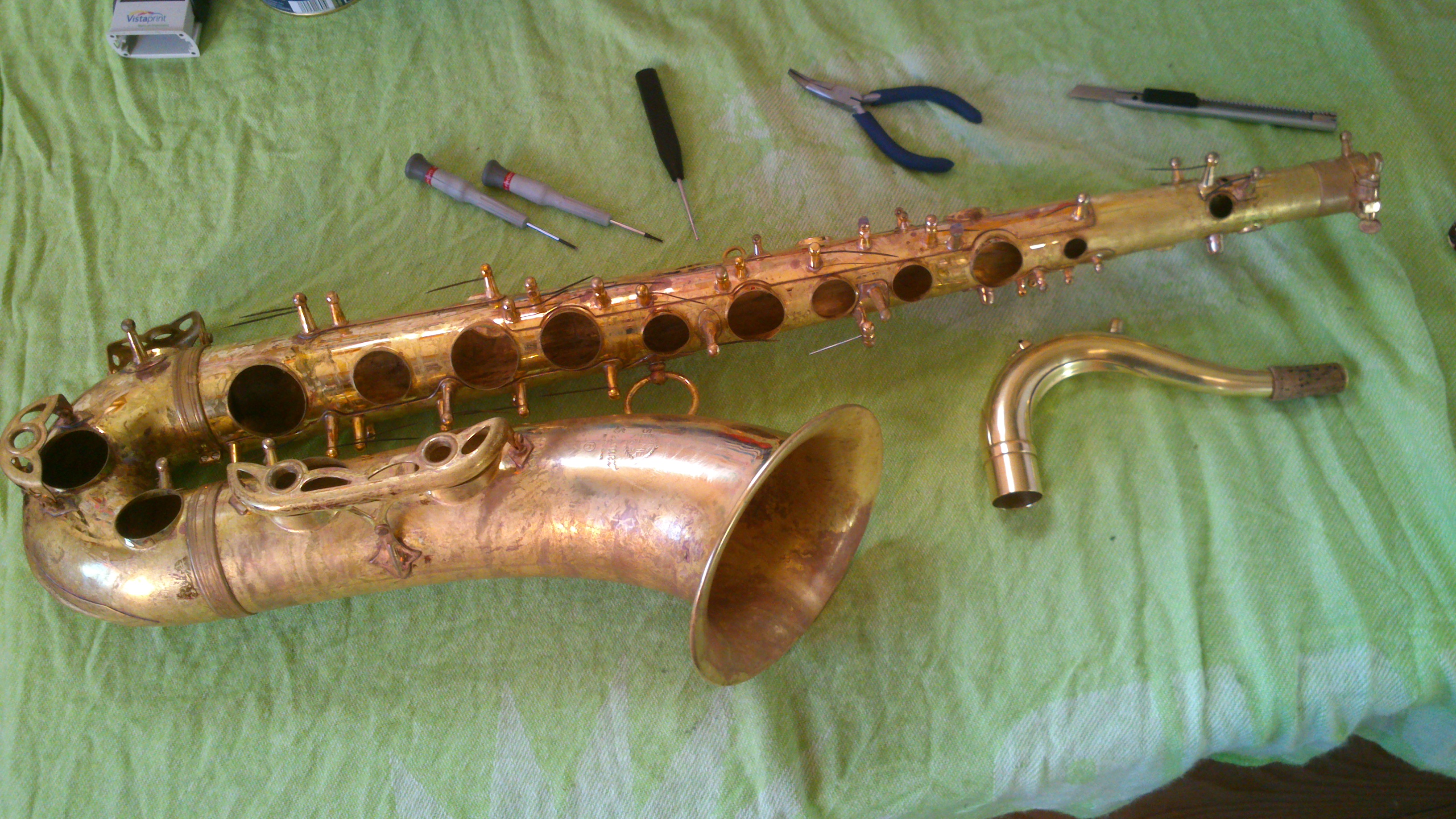 Sax rénovation