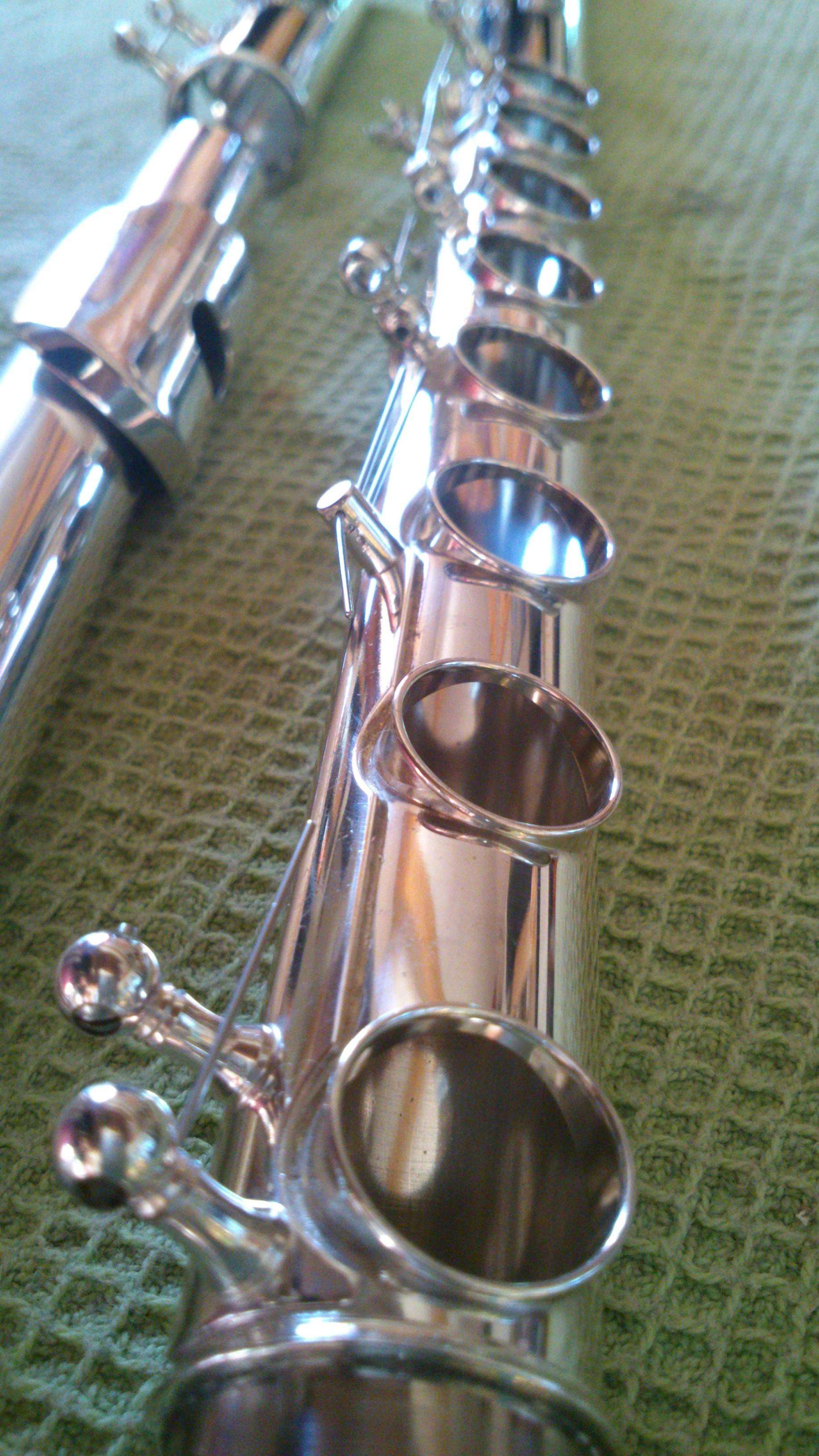 Flûte traversière rénovation