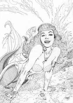 Bettie Page #4 cover