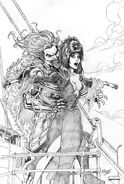Elvira- Mistress Of Dark #12 cover