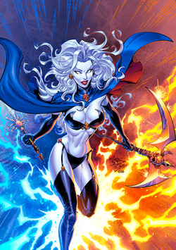 Lady Death to Colour