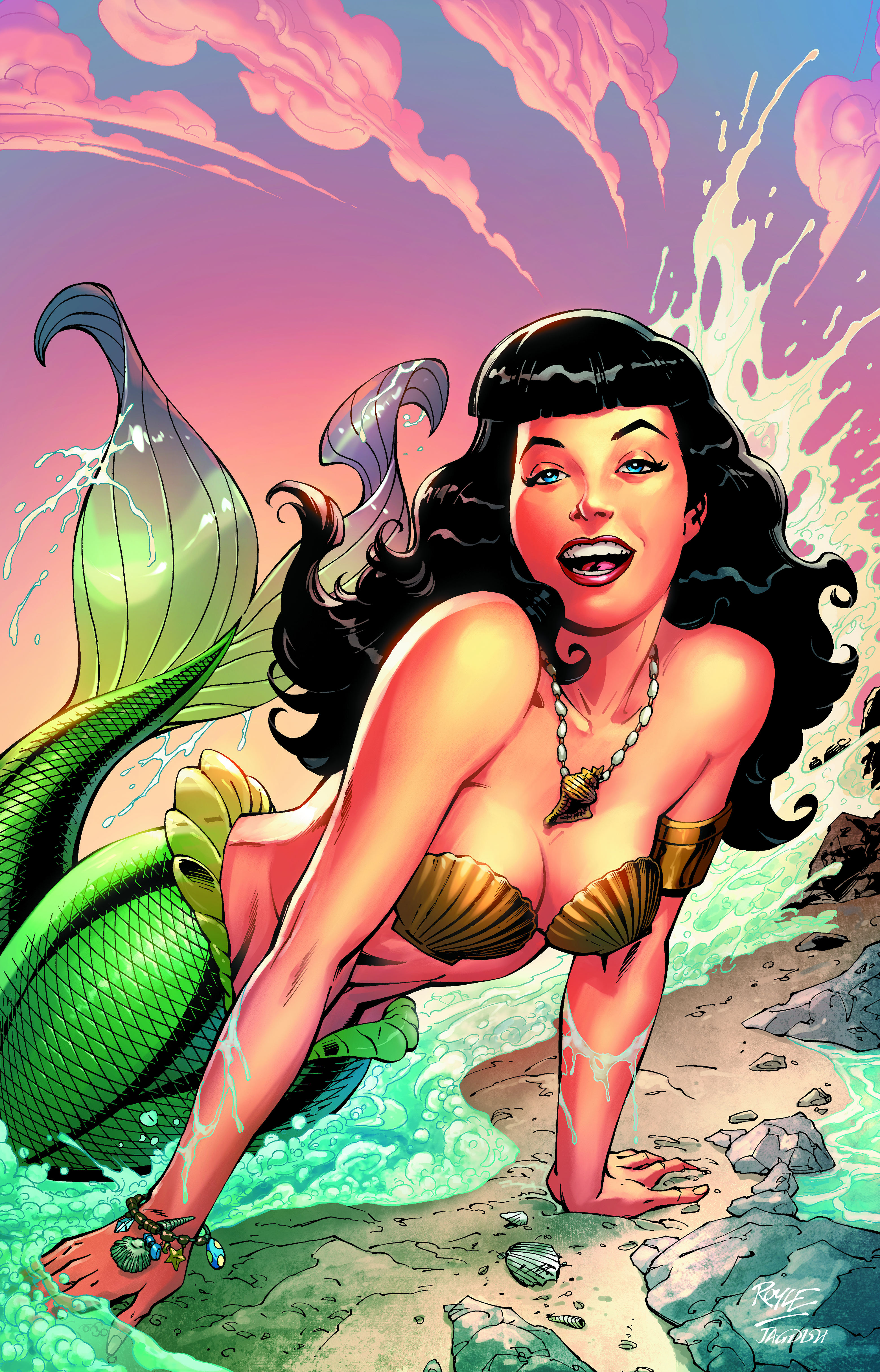 Bettie #04 Mermaid Cover final