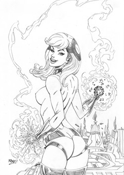 Crystal Commission Pencils