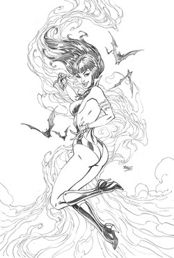 Vampirella 616 store exculsive cover
