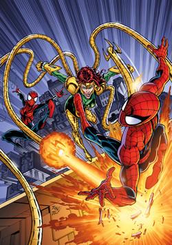 Spiderman SpiderGirl cover