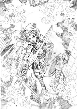 Robyn Hood- Vigilante #1