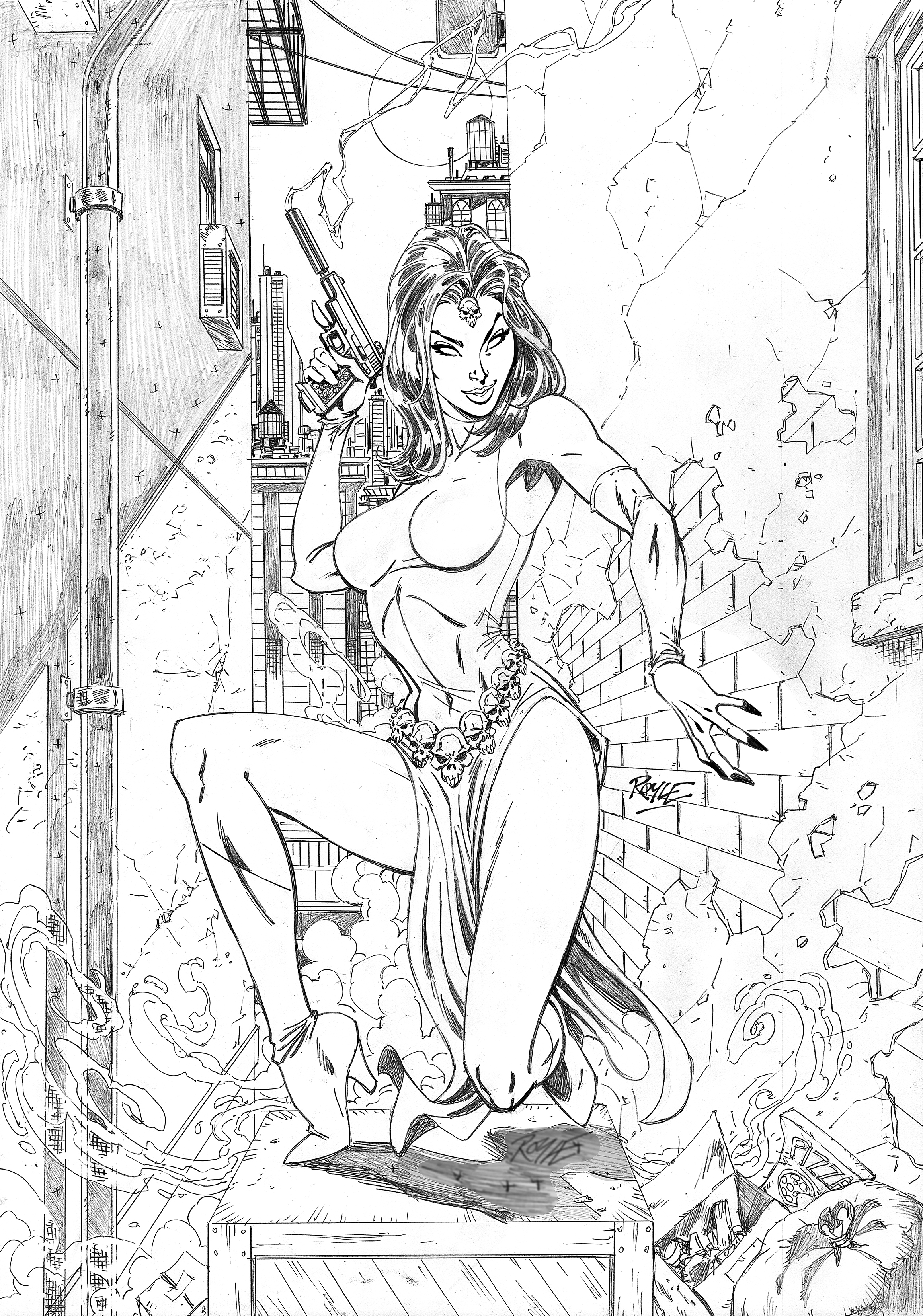 Mystique Pencils
