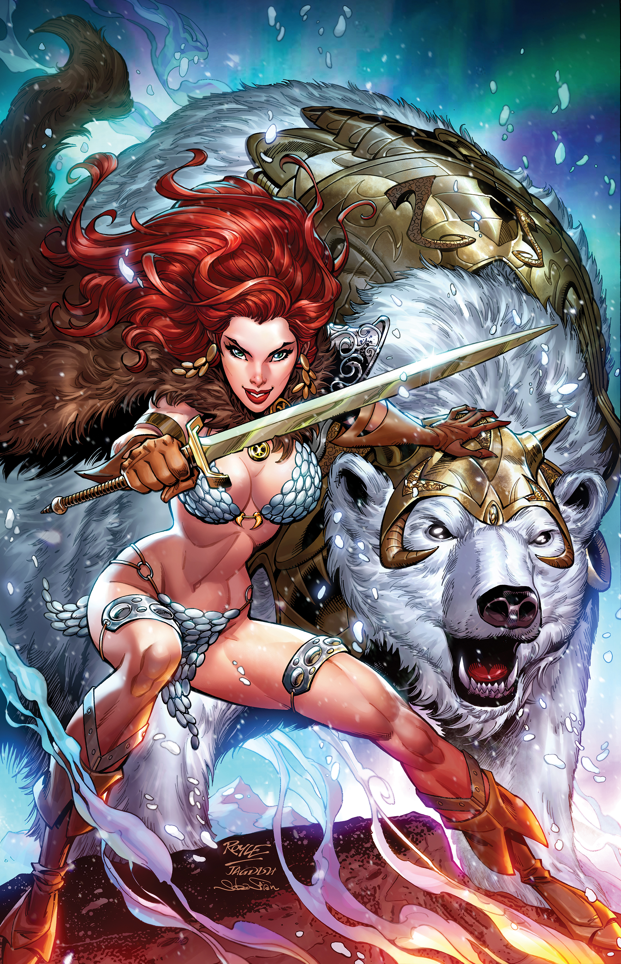 Red Sonja_AegisComicsOfAlaska_cover