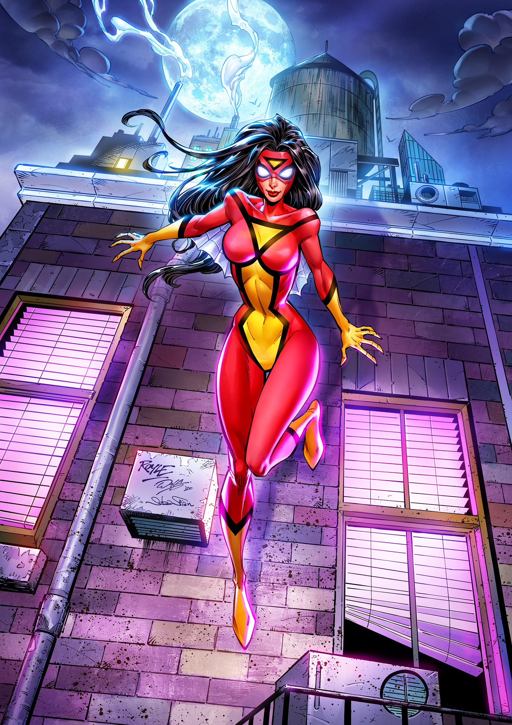 Spiderwoman_colors commission
