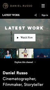Video website templates – Filmfotograf