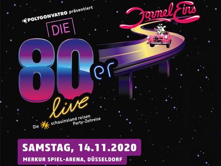 Berlin Show Orchestra auf der größten 80er Live Show des Jahres