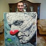 художник Арсен Асатрян Галерея  OGOGO.CENTER by Nikandrov.DESIGN