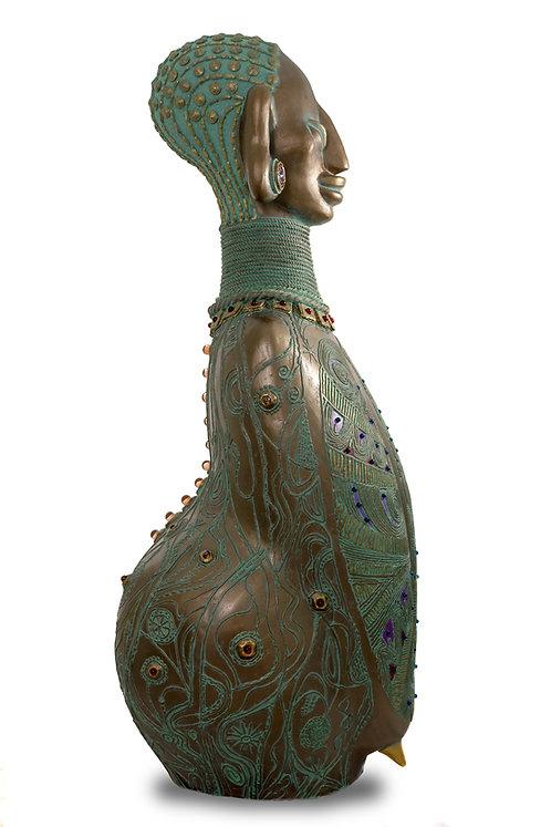 Пахикорма статуя