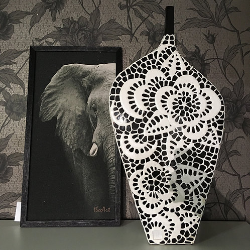 Картина из песка «Слон»