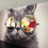 """Thumbnail: Панно/зеркало """"Кот"""""""