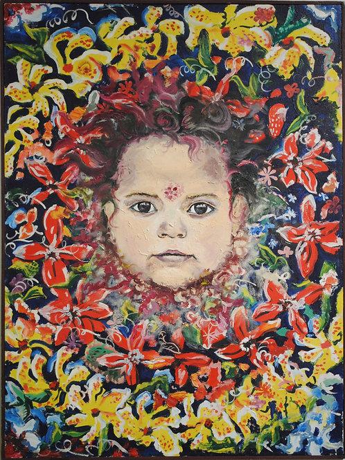 "картина ""Цветы жизни"""